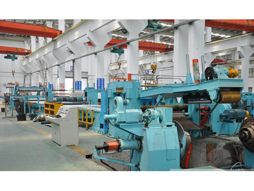 Cold Rolled Cut-To-Length Line