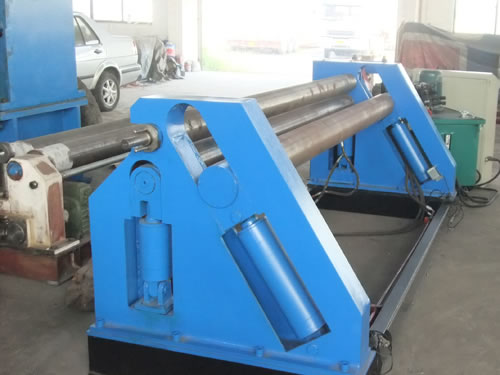Hydraulic Asymmetrical Plate Rolling Machine