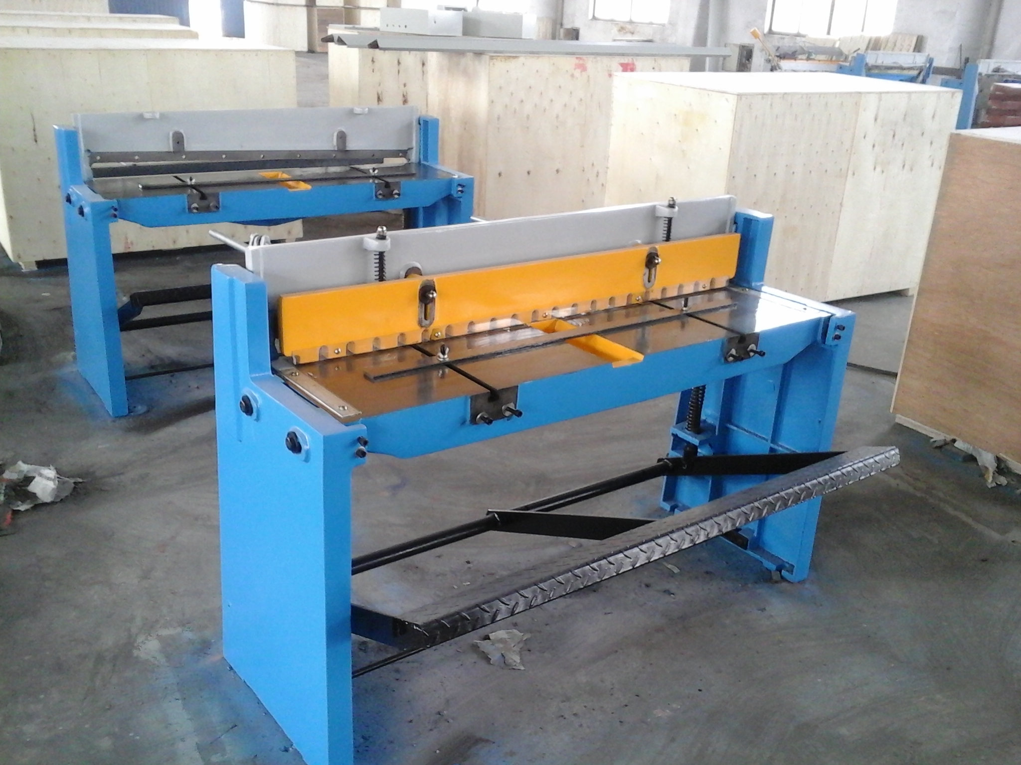 Manual Shearing Machine
